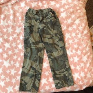 Other - Camouflage Cargo Pants Boys Size 10 slim